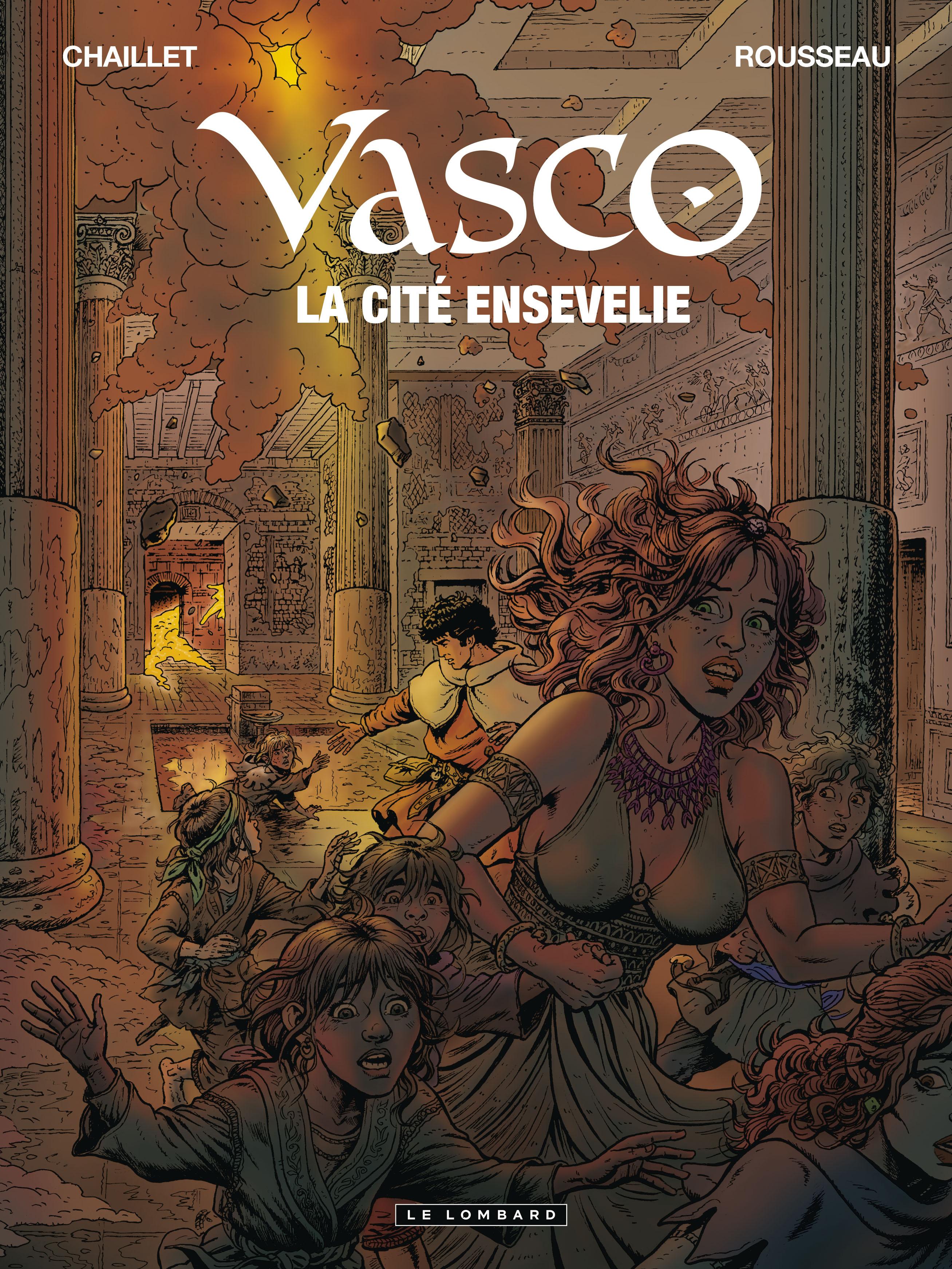 Vasco 26 - La cité ensevelie