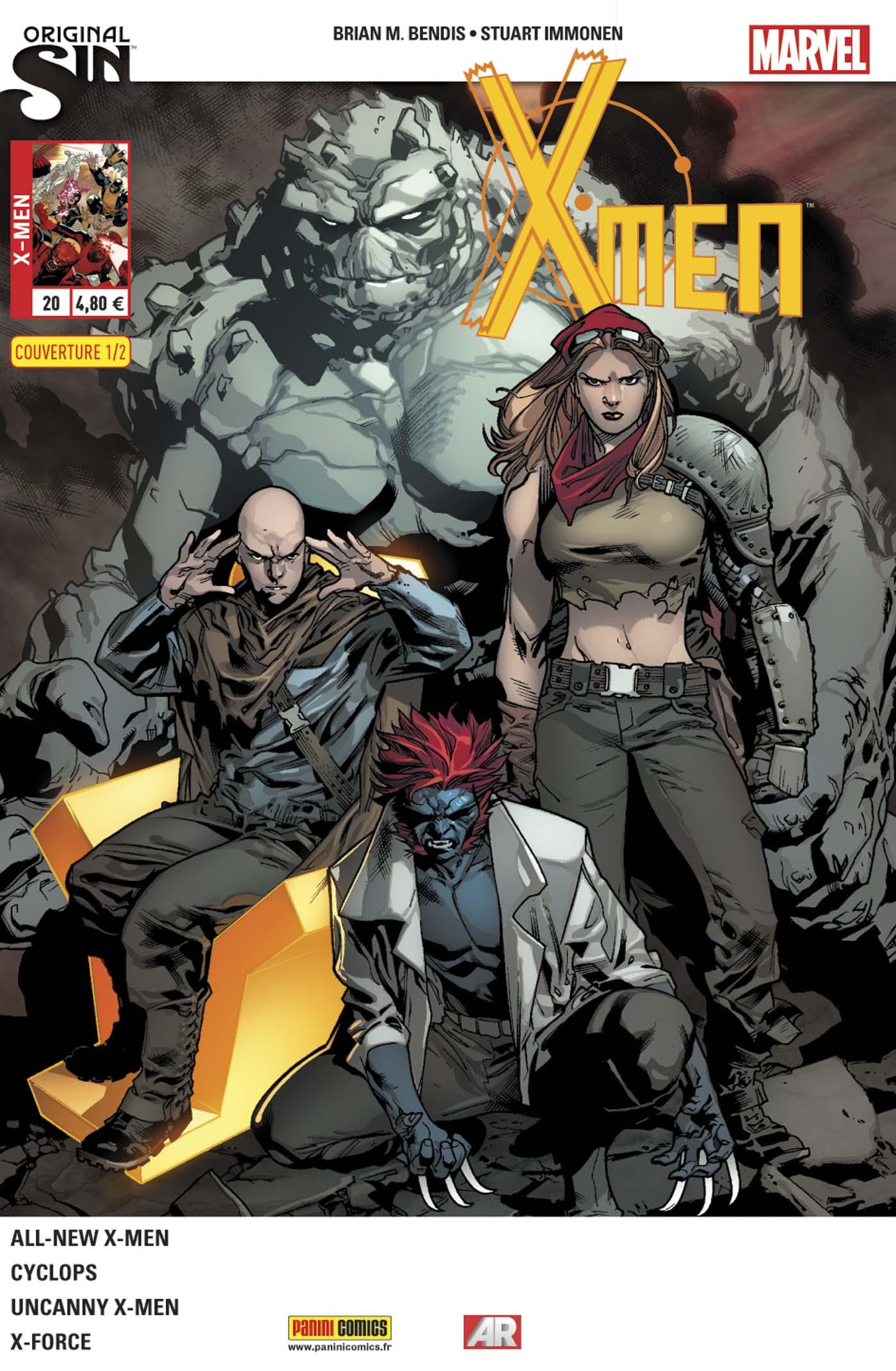 X-Men 20 - couverture 1/2