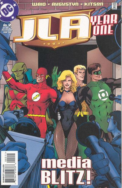 JLA - Year One 2 - Media Blitz!