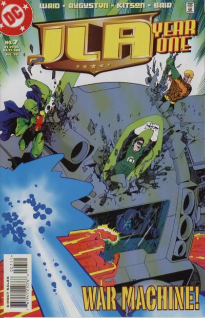 JLA - Year One 7 - War Machine!