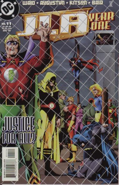 JLA - Year One 11 - Justice for All?