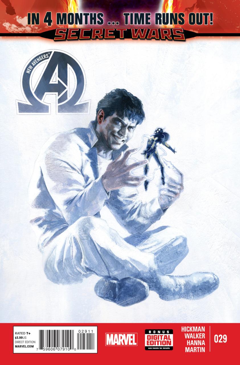 New Avengers 29 - 8 Months Ago...