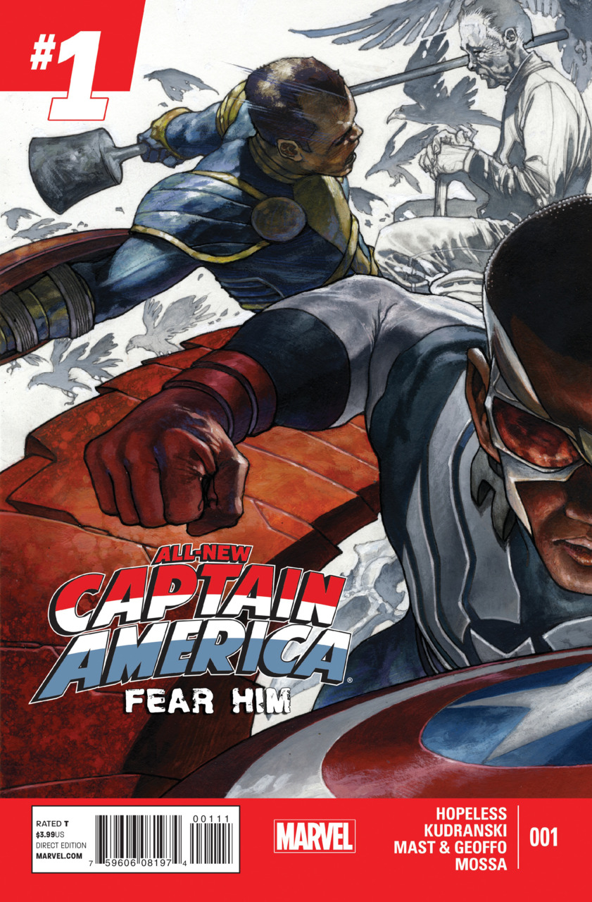 All-New Captain America - Fear him 1 - Issue 1