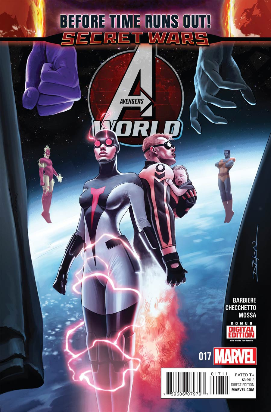 Avengers World 17 - Before times runs out part 1