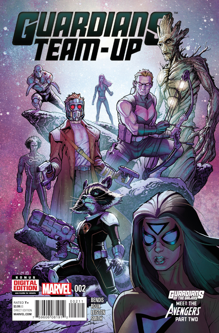 Guardians Team-up 2 - Guardians of the Galaxy Meet the Avengers Part Two