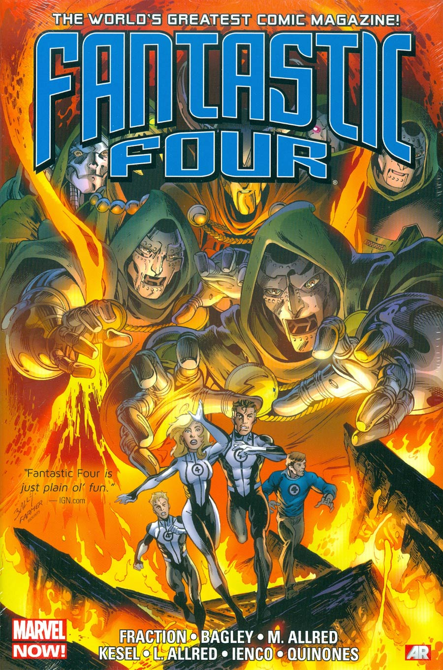 Fantastic Four 1 - Fantastic Four by Matt Fraction Omnibus