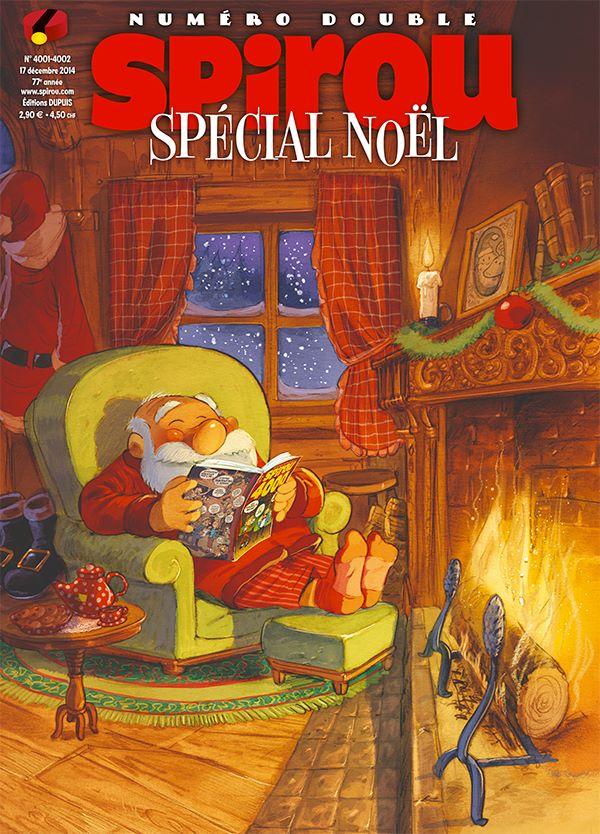 Le journal de Spirou 4001 - Spécial Noël