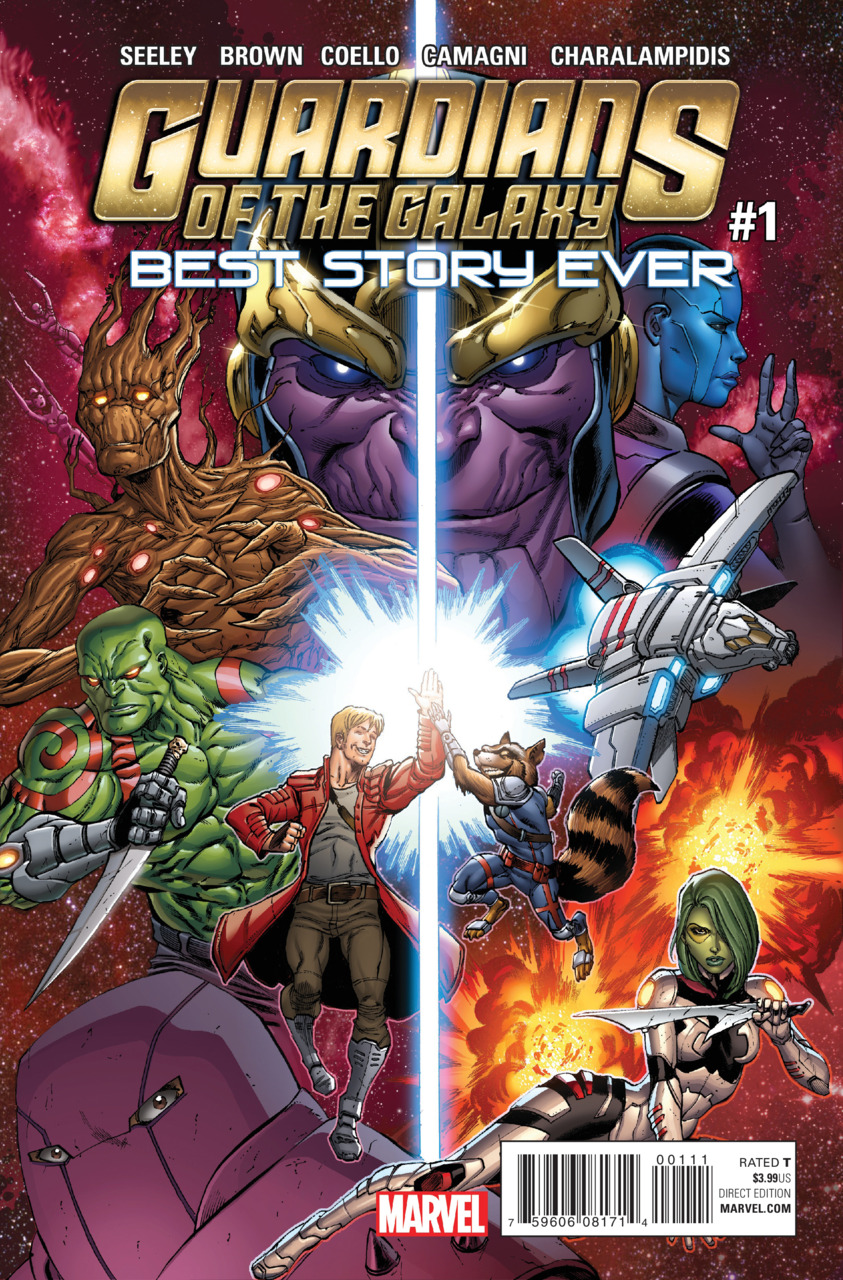 Guardians of the Galaxy - Best story ever 1 - Issue 1