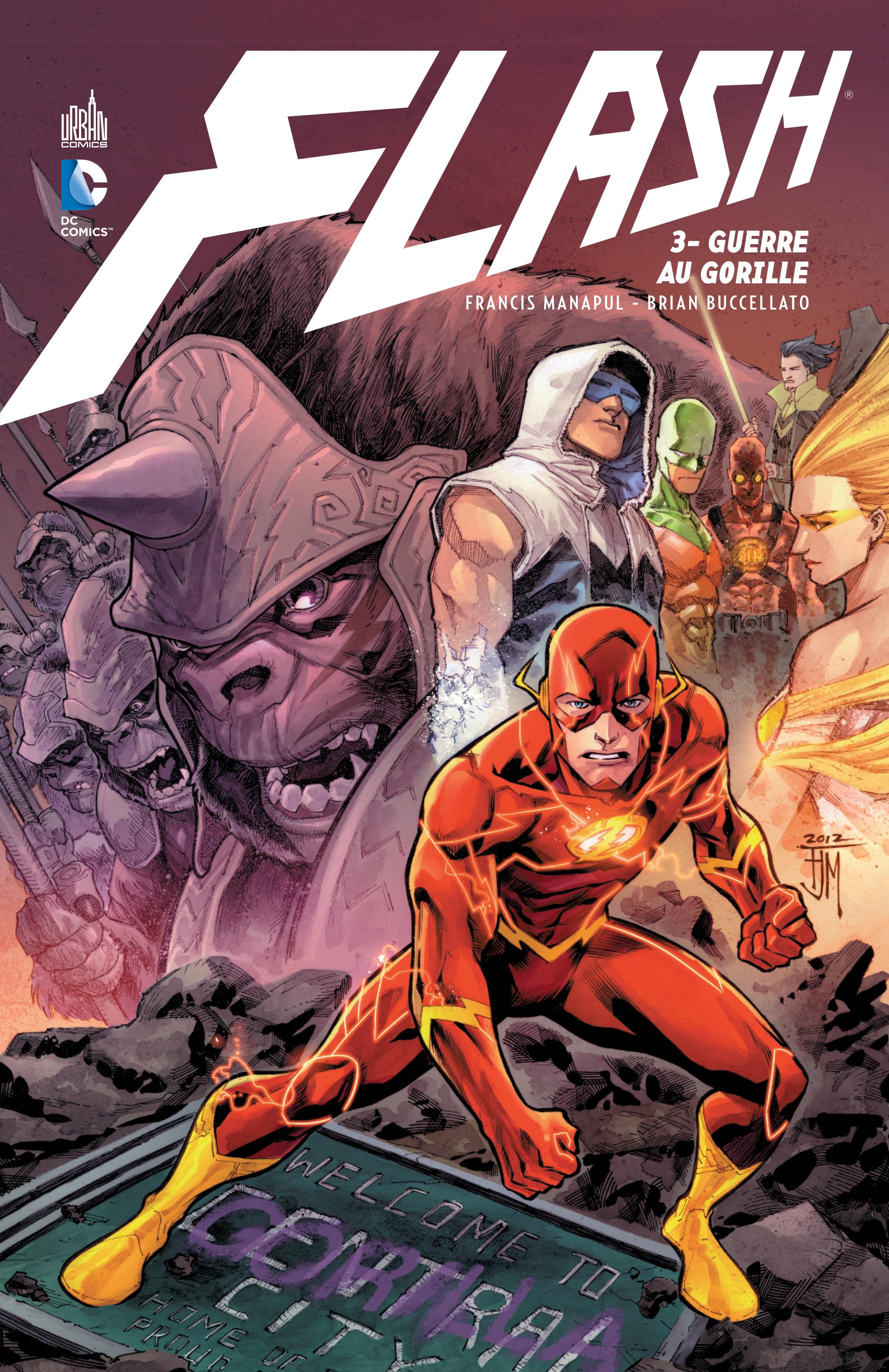 Flash 3 - Guerre au gorille