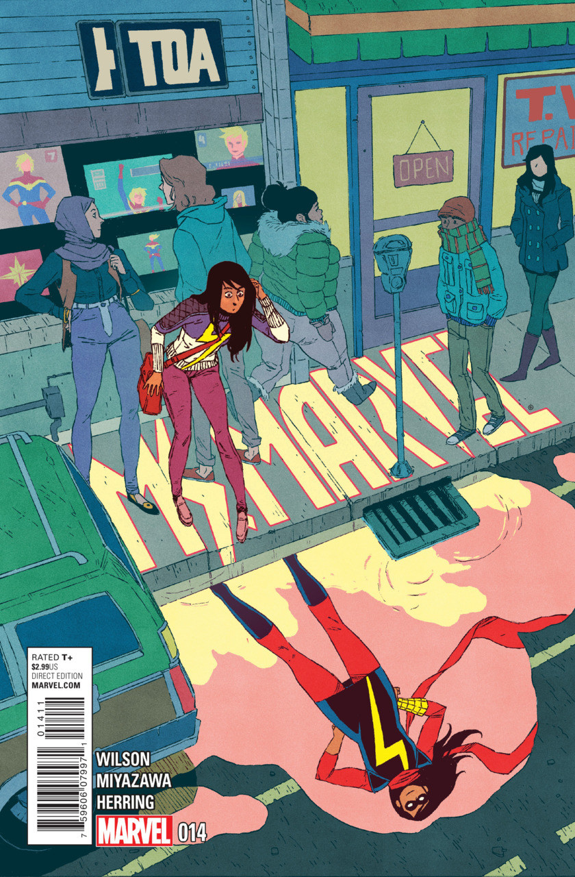 Ms. Marvel 14 - Crushed Part Two of Three