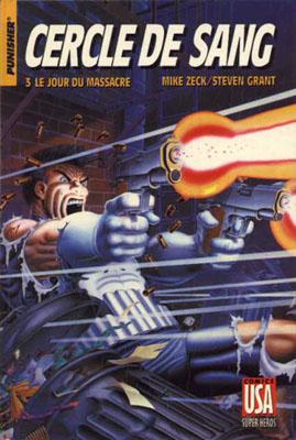 Collection Super Héros 19 -  Cercle de sang - 3/ Le jour du massacre