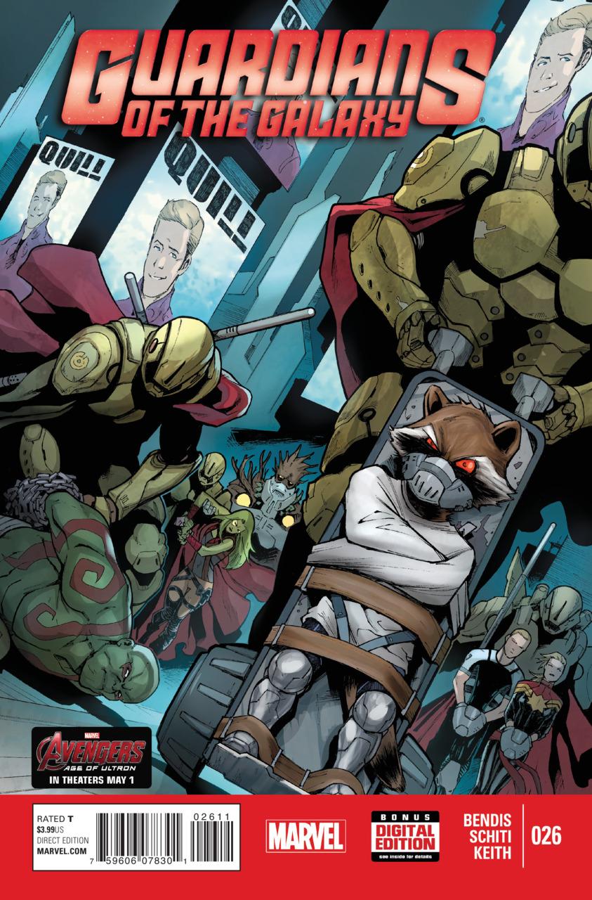 Les Gardiens de la Galaxie 26 - Issue 26