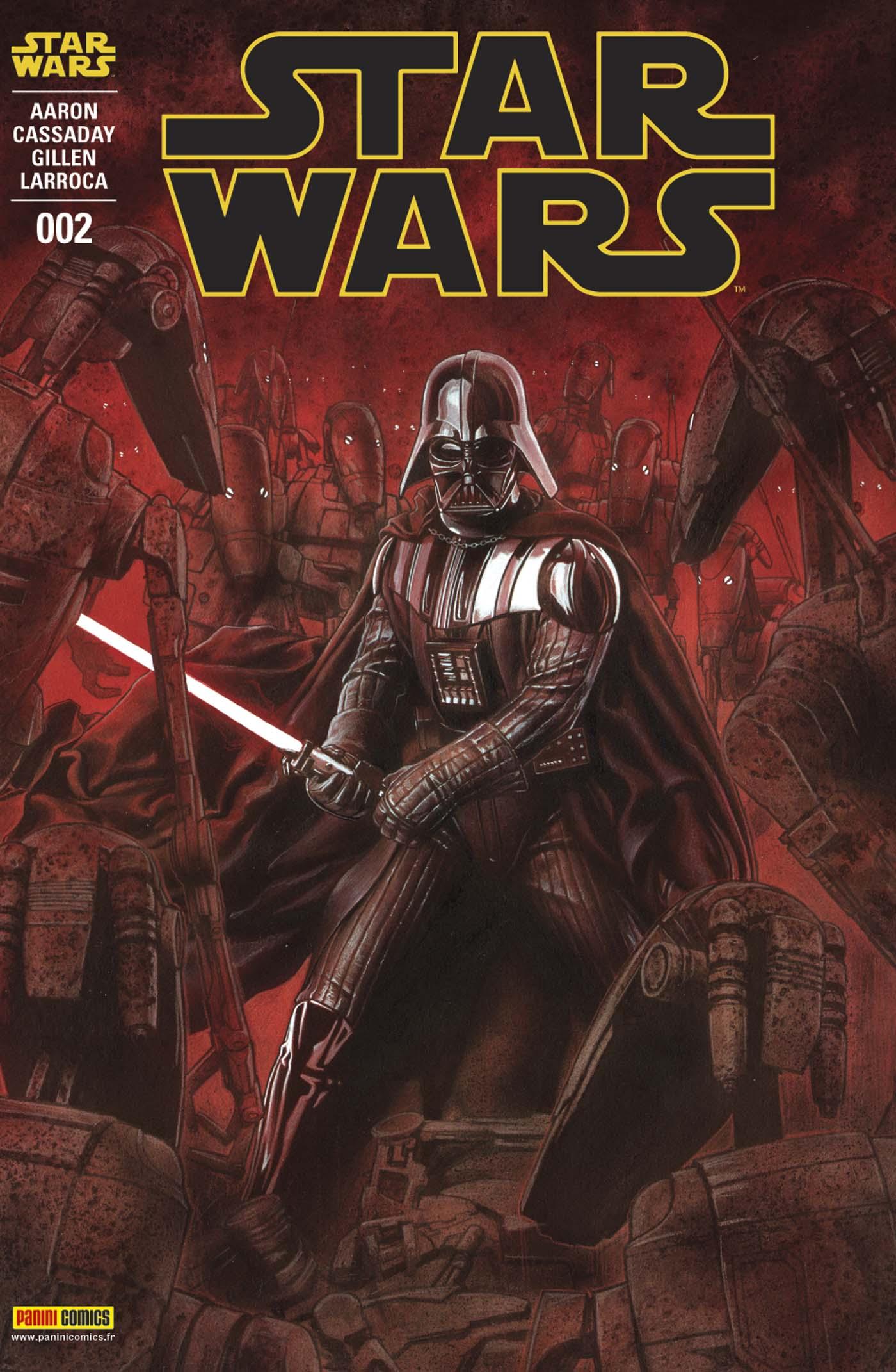 Star Wars 2 - Couverture A (Adi Granov – tirage 75%)