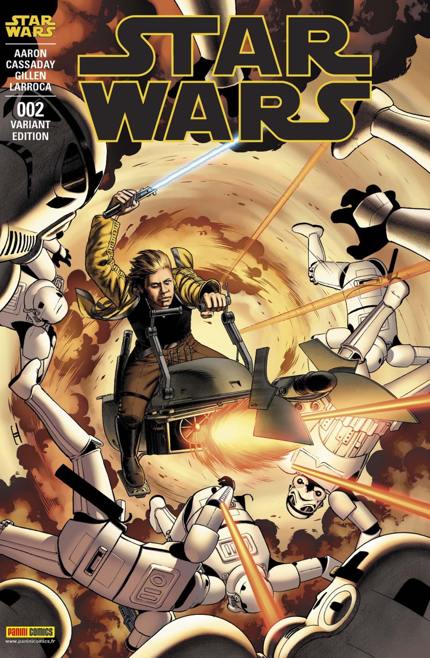 Star Wars 2 - Couverture B (John Cassaday – tirage 25%)