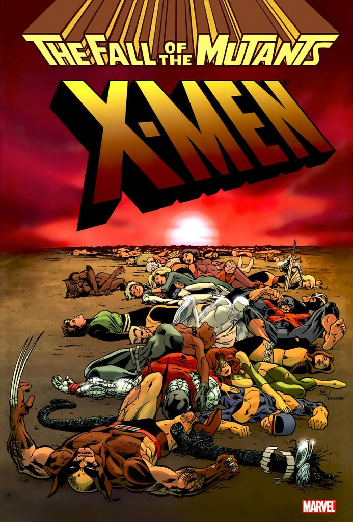 X-Men - Fall of the Mutants 1