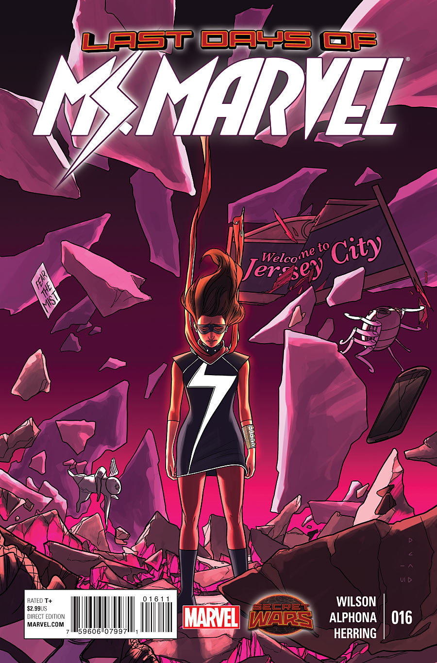 Ms. Marvel 16 - Last days part one