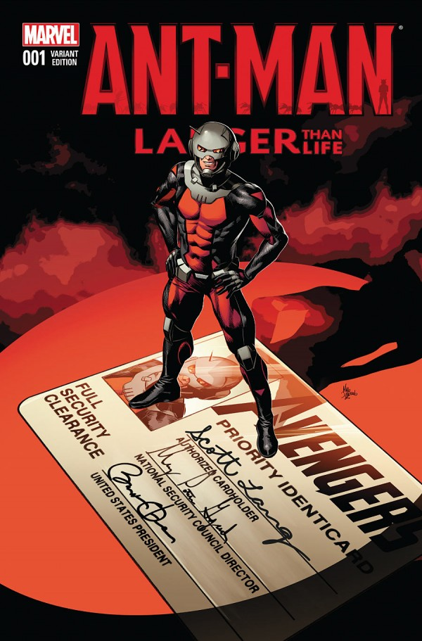 Ant-Man - Larger Than Life 1 - Variant Edition