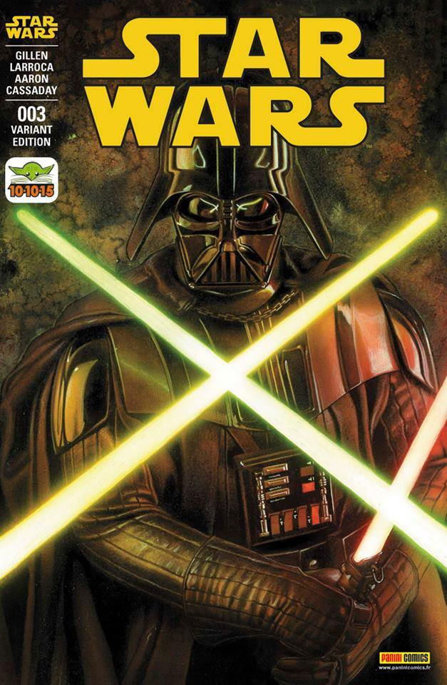 Star Wars 3 - Couverture B (Adi Granov – tirage 25%)