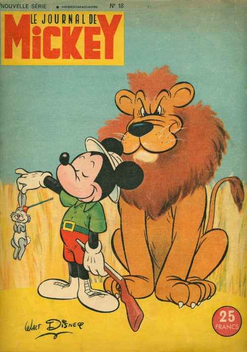 Le journal de Mickey 18