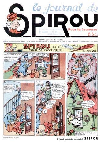 Le journal de Spirou 27