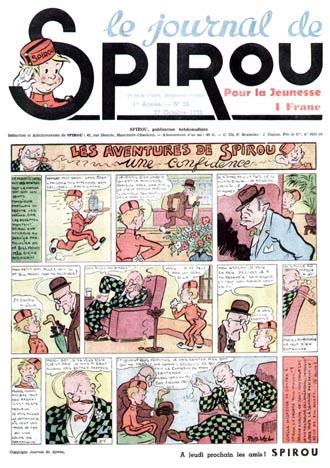 Le journal de Spirou 28