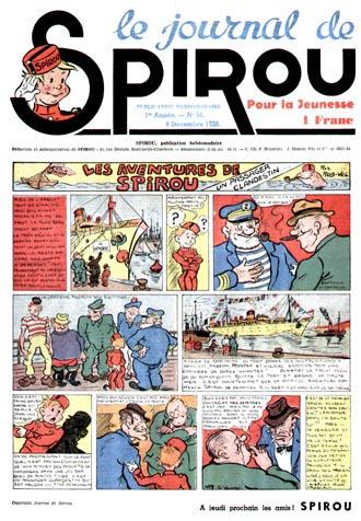 Le journal de Spirou 34