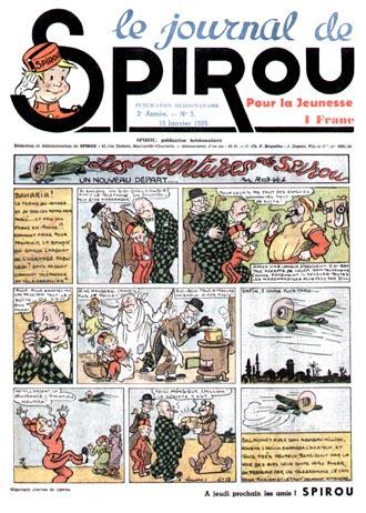 Le journal de Spirou 40