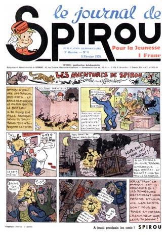 Le journal de Spirou 43