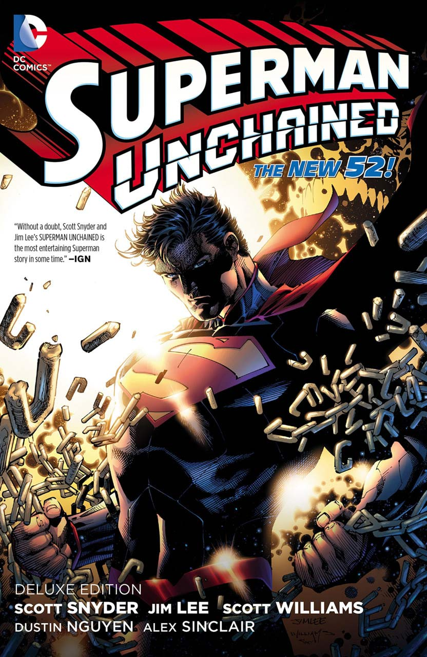 Superman Unchained 1 - SUPERMAN UNCHAINED DELUXE EDITION