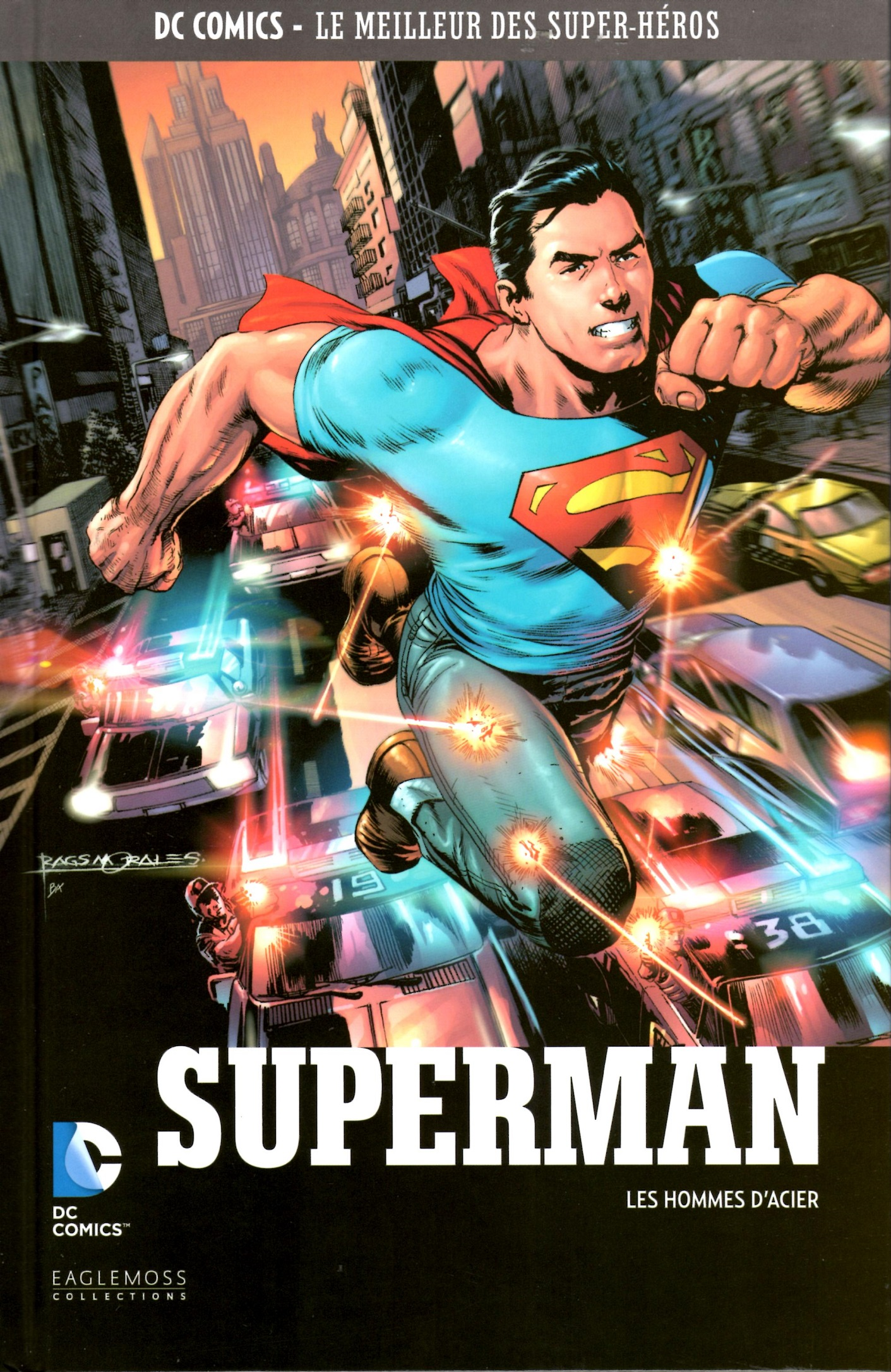 DC Comics - Le Meilleur des Super-Héros 9 - Superman - Les hommes d'aciers