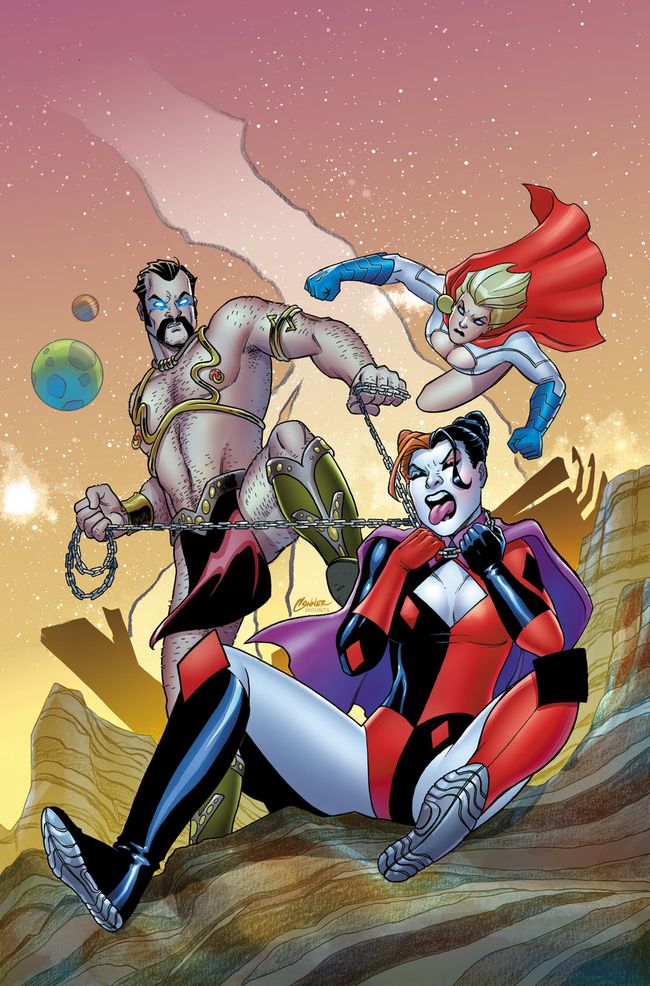 Harley Quinn & Power Girl 3