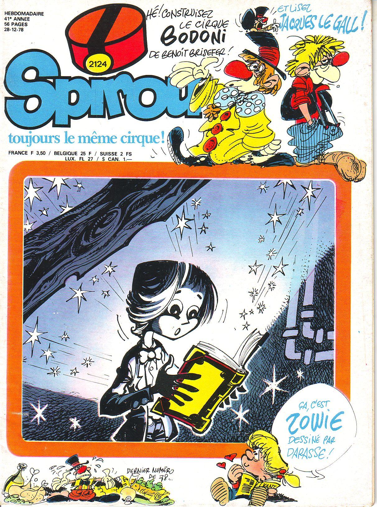 Le journal de Spirou 2124