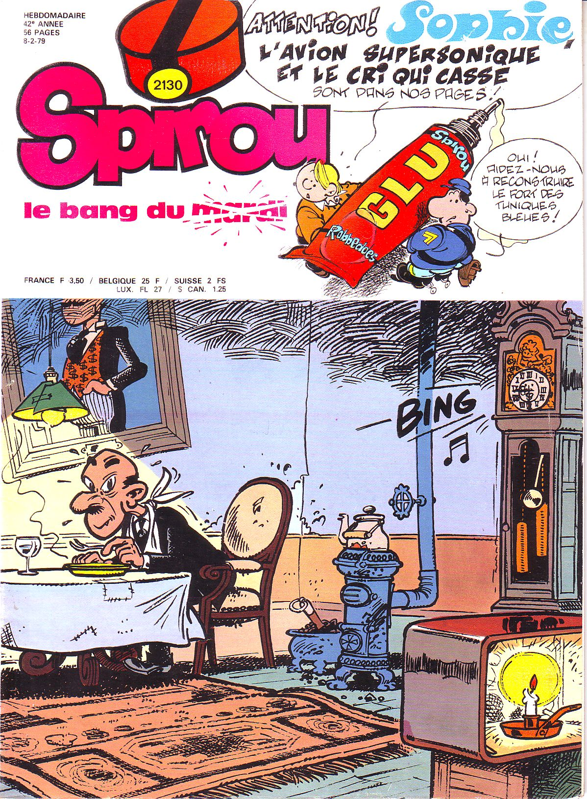 Le journal de Spirou 2130