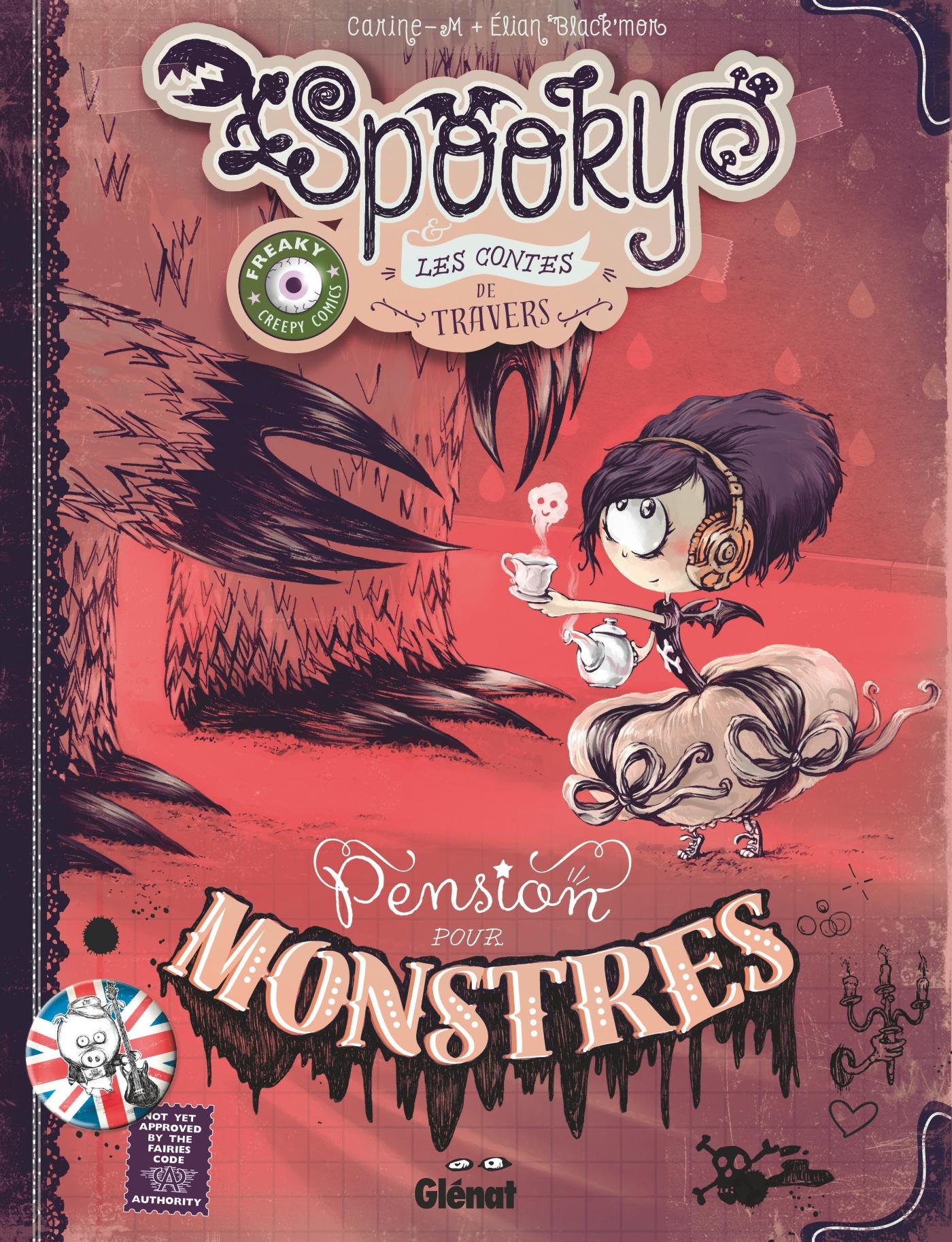 Spooky et les contes de travers 1 - Pension pour monstres