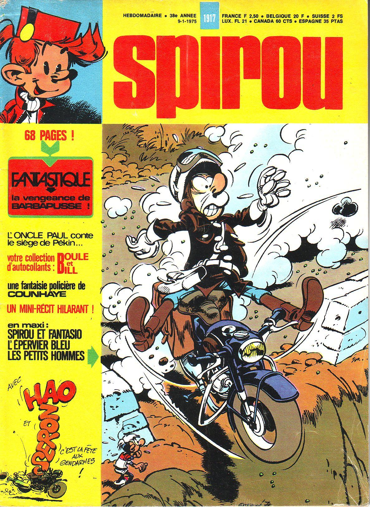 Le journal de Spirou 1917