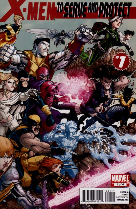 X-Men - To Serve and Protect 1