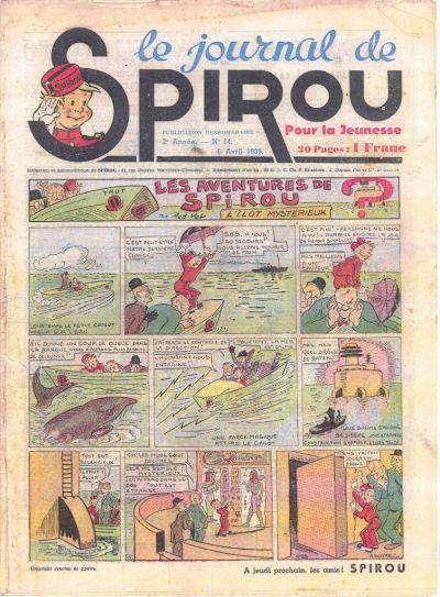 Le journal de Spirou 51