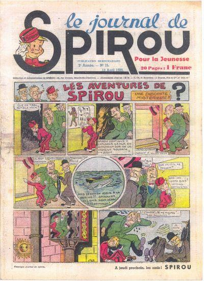 Le journal de Spirou 52