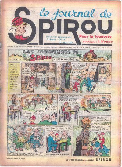 Le journal de Spirou 54