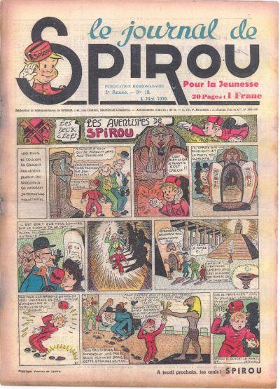 Le journal de Spirou 55