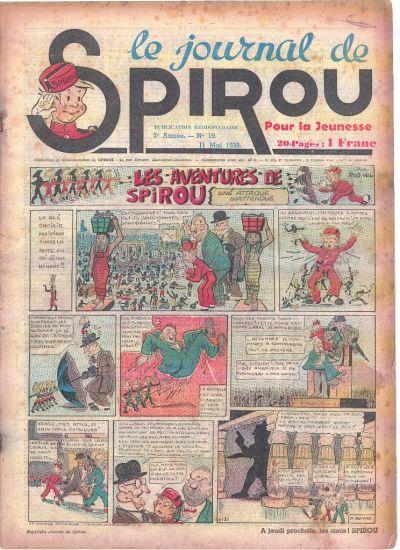 Le journal de Spirou 56