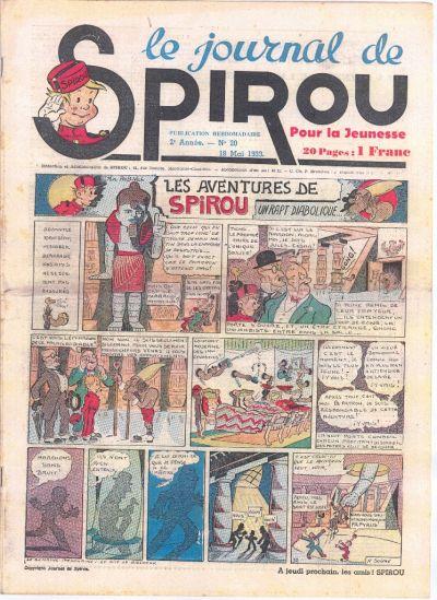 Le journal de Spirou 57