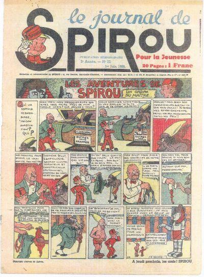Le journal de Spirou 59