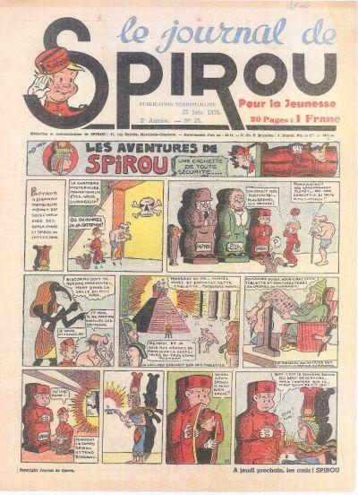 Le journal de Spirou 62