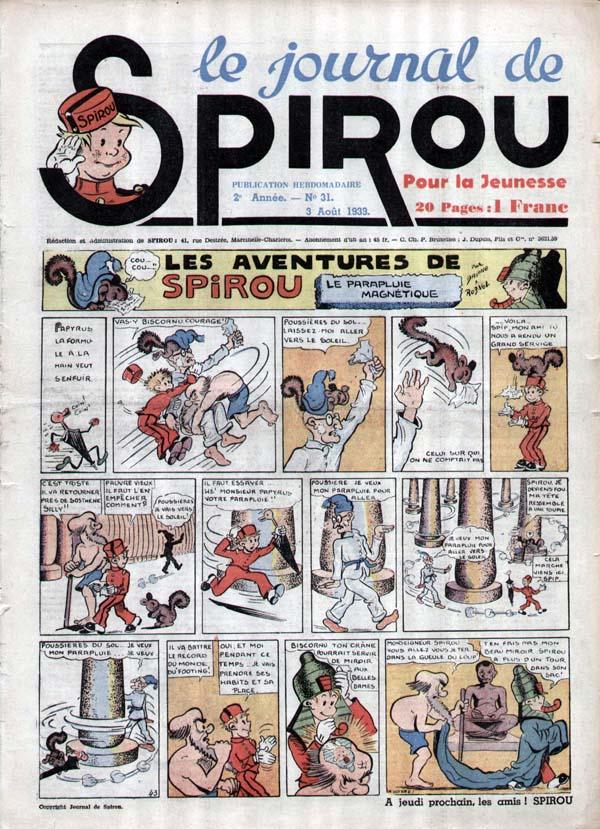Le journal de Spirou 68