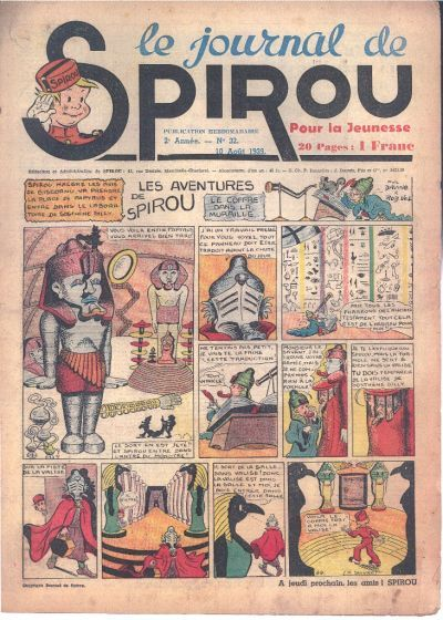 Le journal de Spirou 69