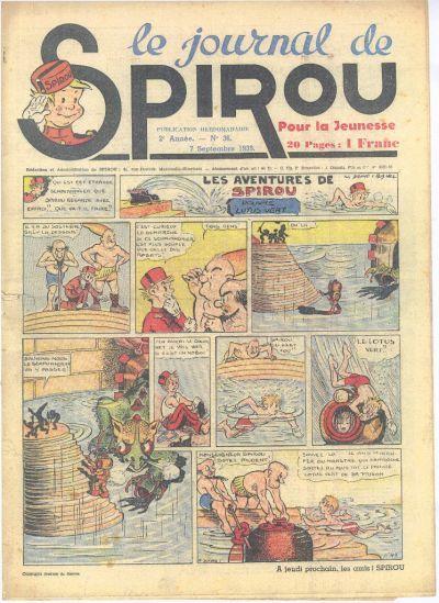 Le journal de Spirou 73