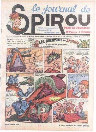 Le journal de Spirou 83