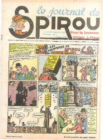 Le journal de Spirou 91