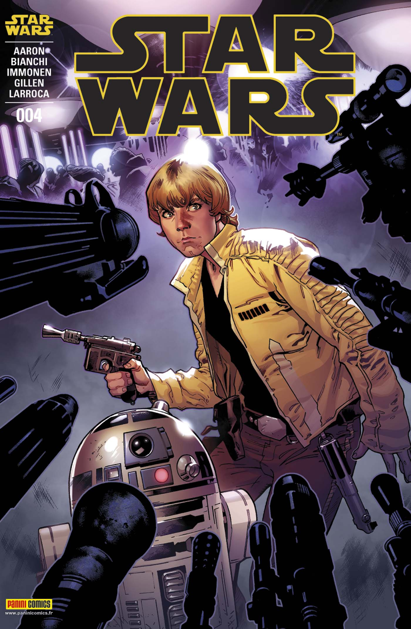 Star Wars 4 - Couverture A : (Stuart Immonen – tirage 50%)